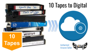10 tapes